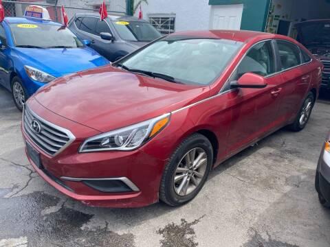 2016 Hyundai Sonata for sale at Dream Cars 4 U in Hollywood FL