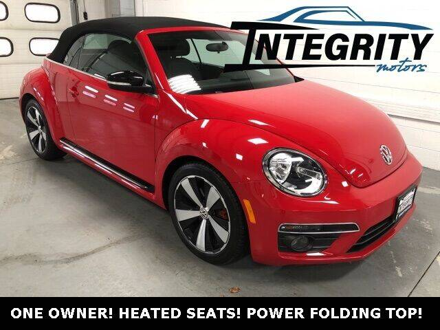 2013 Volkswagen Beetle Convertible for sale at Integrity Motors, Inc. in Fond Du Lac WI