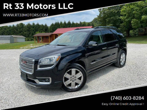 2014 GMC Acadia for sale at Rt 33 Motors LLC in Rockbridge OH
