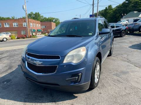 2012 Chevrolet Equinox for sale at East Main Rides in Marion VA