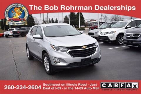 2020 Chevrolet Equinox for sale at BOB ROHRMAN FORT WAYNE TOYOTA in Fort Wayne IN