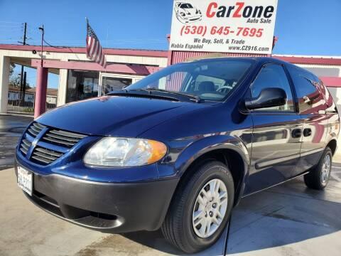 2005 Dodge Caravan for sale at CarZone in Marysville CA