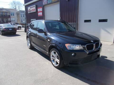 2013 BMW X3 for sale at Mig Auto Sales Inc in Albany NY