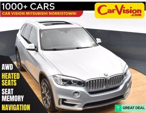 2018 BMW X5 for sale at Car Vision Buying Center in Norristown PA
