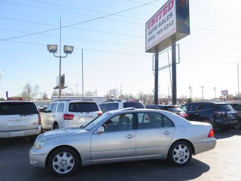 2003 Lexus LS 430 for sale at United Auto Sales in Oklahoma City OK