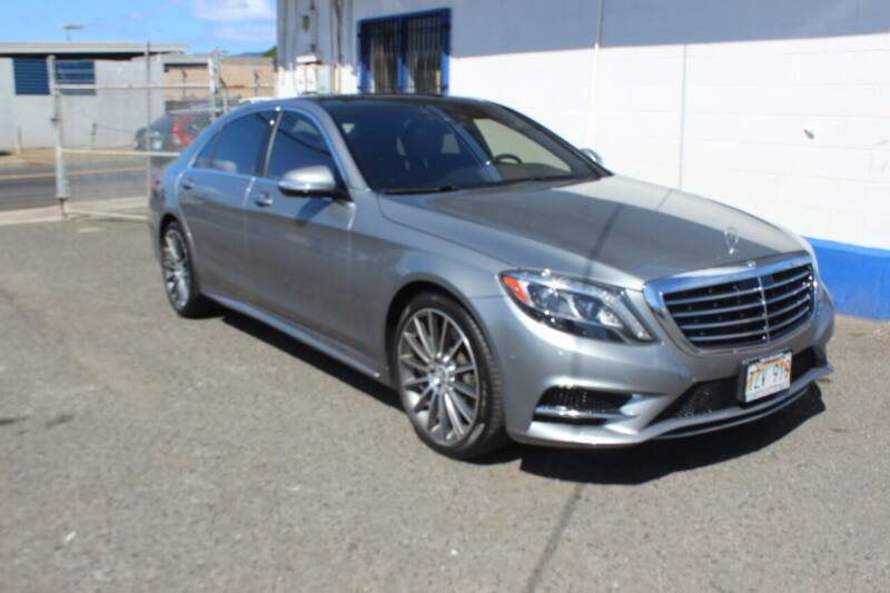 2015 Mercedes-Benz S-Class for sale at Bayview Auto Sales in Waipahu HI