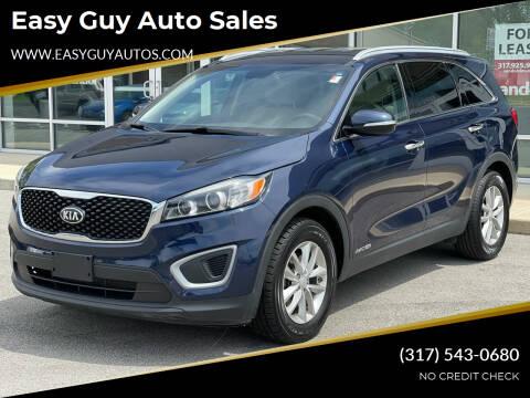 2017 Kia Sorento for sale at Easy Guy Auto Sales in Indianapolis IN