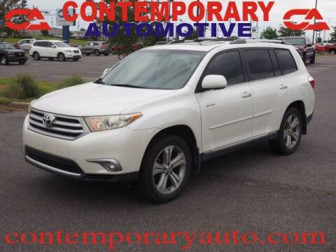 2013 Toyota Highlander for sale at Contemporary Auto in Tuscaloosa AL