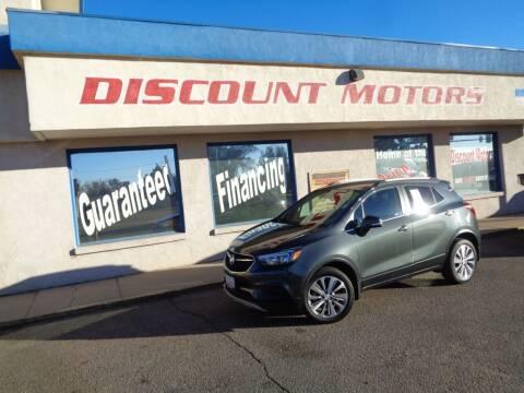 2018 Buick Encore for sale at Discount Motors in Pueblo CO