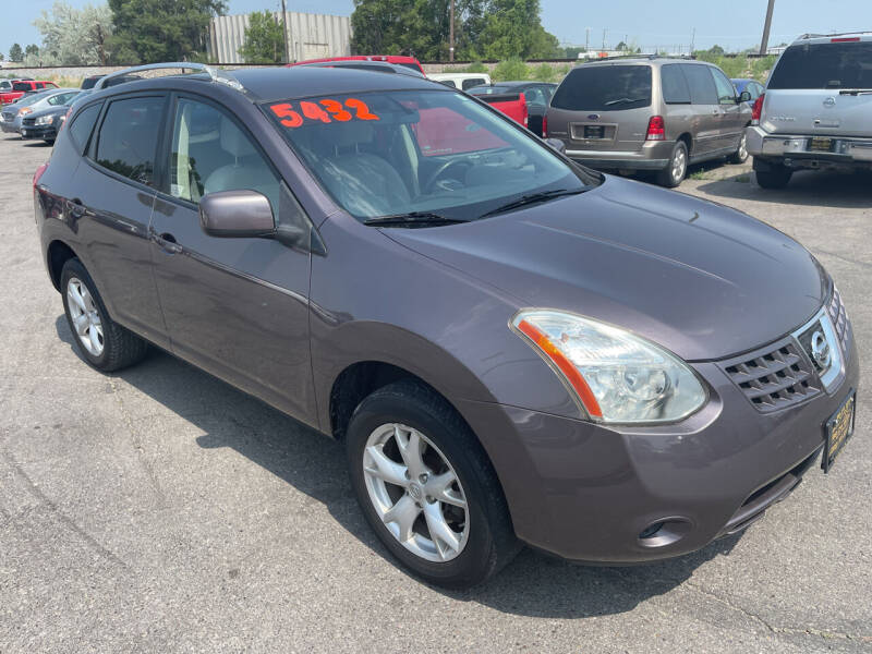 2008 Nissan Rogue for sale at BELOW BOOK AUTO SALES in Idaho Falls ID