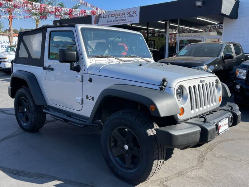2008 Jeep Wrangler for sale at Automaxx Of San Diego in Spring Valley CA