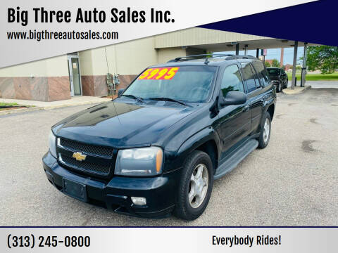 2008 Chevrolet TrailBlazer for sale at Big Three Auto Sales Inc. in Detroit MI