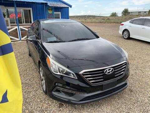 2015 Hyundai Sonata for sale at 4X4 Auto in Cortez CO