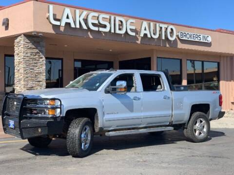 2016 Chevrolet Silverado 2500HD for sale at Lakeside Auto Brokers Inc. in Colorado Springs CO