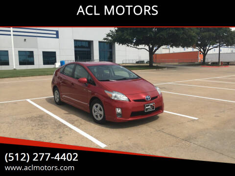 2011 Toyota Prius for sale at ACL MOTORS in Austin TX