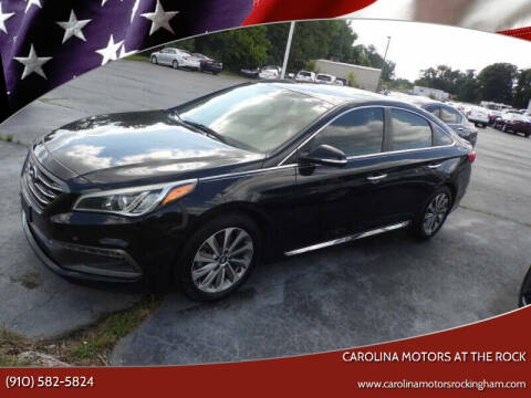 2017 Hyundai Sonata for sale at Carolina Motors at the Rock in Rockingham NC
