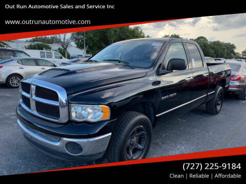 2004 Dodge Ram Pickup 1500 for sale at Out Run Automotive Sales and Service Inc in Tampa FL