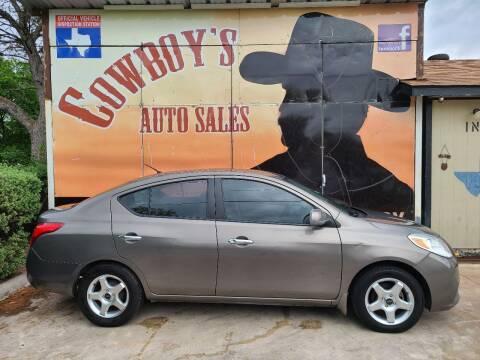 2012 Nissan Versa for sale at Cowboy's Auto Sales in San Antonio TX