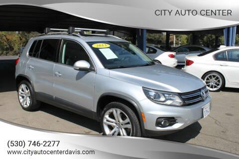 2013 Volkswagen Tiguan for sale at City Auto Center in Davis CA