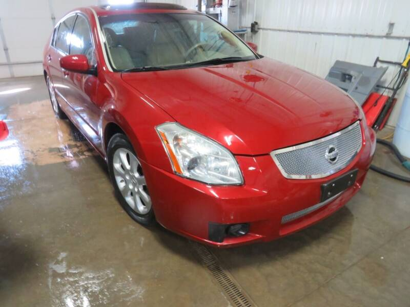 2008 Nissan Maxima for sale at Grey Goose Motors in Pierre SD