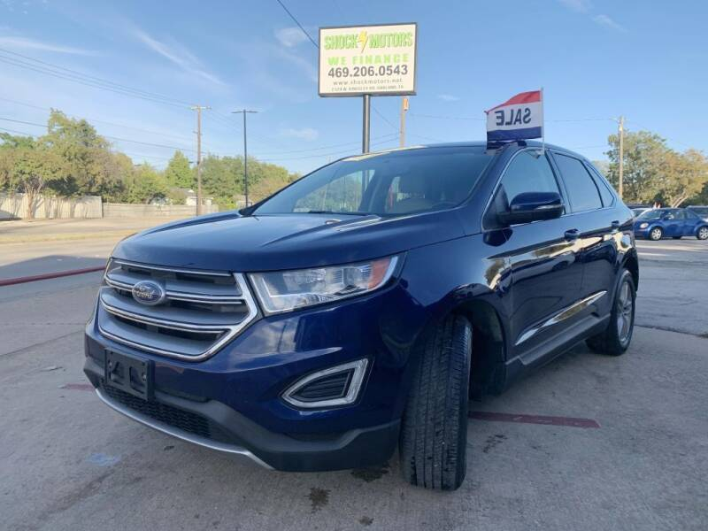 2016 Ford Edge for sale at Shock Motors in Garland TX