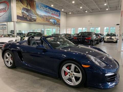 2014 Porsche Boxster for sale at Godspeed Motors in Charlotte NC