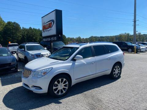 2016 Buick Enclave for sale at Billy Ballew Motorsports in Dawsonville GA