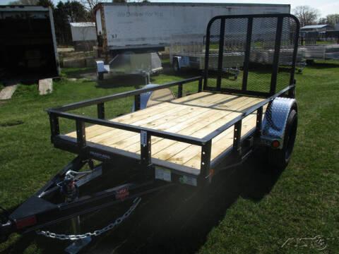 2021 PJ Trailer U6 Single Axle Utility U621031 for sale at Rondo Truck & Trailer in Sycamore IL
