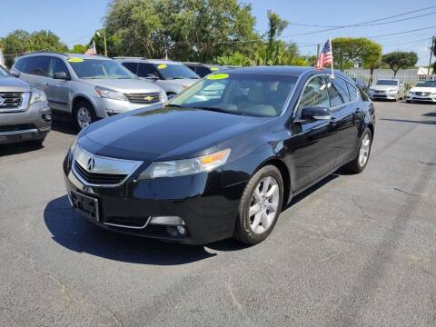 2013 Acura TL for sale at Bargain Auto Sales in West Palm Beach FL