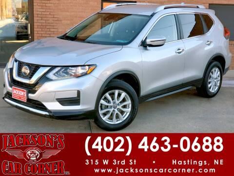2020 Nissan Rogue for sale at Jacksons Car Corner Inc in Hastings NE