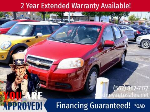 2010 Chevrolet Aveo for sale at Sidney Auto Sales in Downey CA