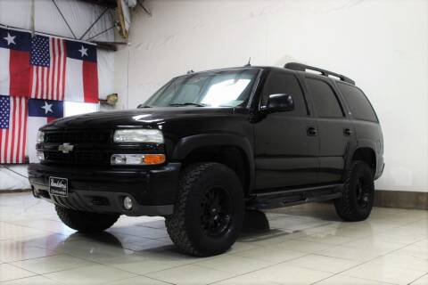 2005 Chevrolet Tahoe for sale at ROADSTERS AUTO in Houston TX