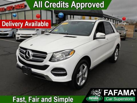 2017 Mercedes-Benz GLE for sale at FAFAMA AUTO SALES Inc in Milford MA
