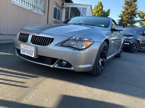 2006 BMW 6 Series for sale at Ronnie Motors LLC in San Jose CA