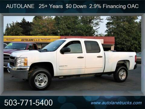 2014 Chevrolet Silverado 2500HD for sale at Auto Lane in Portland OR