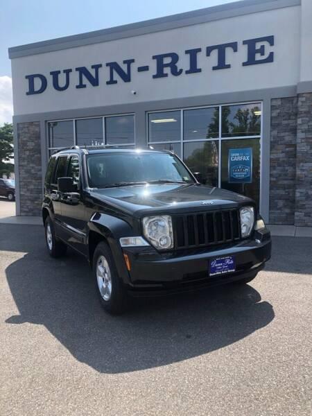 2012 Jeep Liberty for sale at Dunn-Rite Auto Group in Kilmarnock VA
