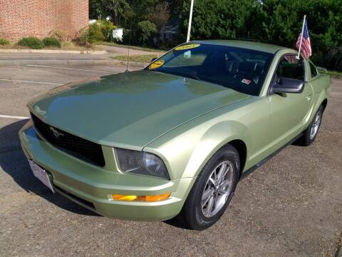 2005 Ford Mustang for sale at Hilton Motors Inc. in Newport News VA