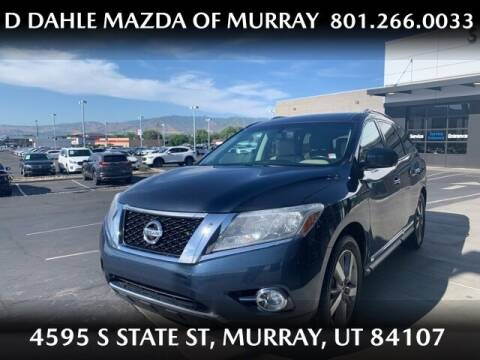 2016 Nissan Pathfinder for sale at D DAHLE MAZDA OF MURRAY in Salt Lake City UT