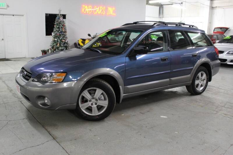 2005 Subaru Outback for sale at R n B Cars Inc. in Denver CO