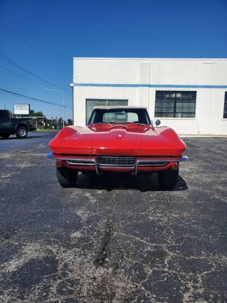 1966 Chevrolet Corvette for sale at STAPLEFORD'S SALES & SERVICE in Saint Georges DE