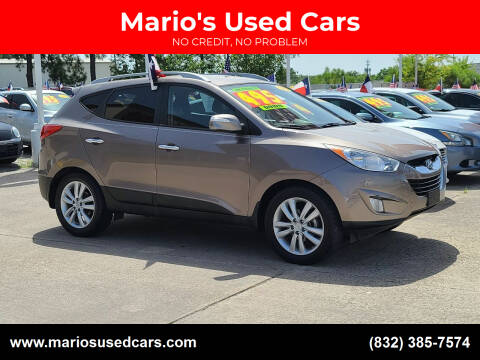 2011 Hyundai Tucson for sale at Mario's Used Cars in Houston TX