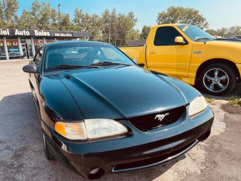 1995 Ford Mustang SVT Cobra for sale at Daniel Auto Sales inc in Clinton Township MI