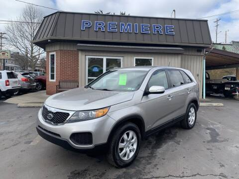 2013 Kia Sorento for sale at Premiere Auto Sales in Washington PA