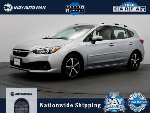 2020 Subaru Impreza for sale at INDY AUTO MAN in Indianapolis IN