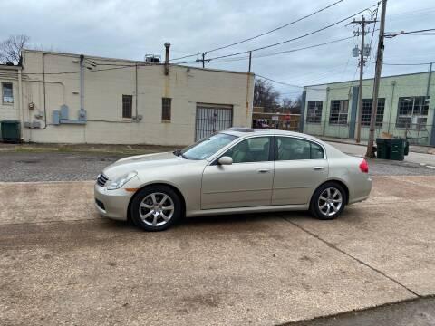 2005 Infiniti G35 for sale at Memphis Auto Sales in Memphis TN