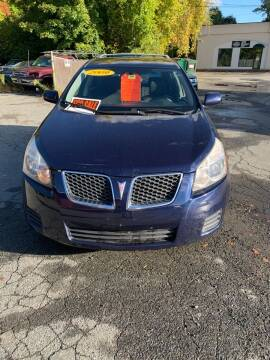 2009 Pontiac Vibe for sale at ALAN SCOTT AUTO REPAIR in Brattleboro VT