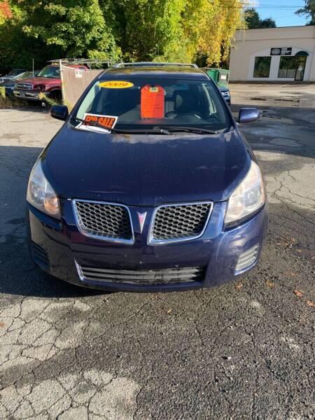 2009 Pontiac Vibe for sale at ALAN SCOTT AUTO REPAIR in Brattleboro VT