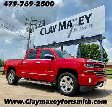 2017 Chevrolet Silverado 1500 for sale at Clay Maxey NWA in Springdale AR
