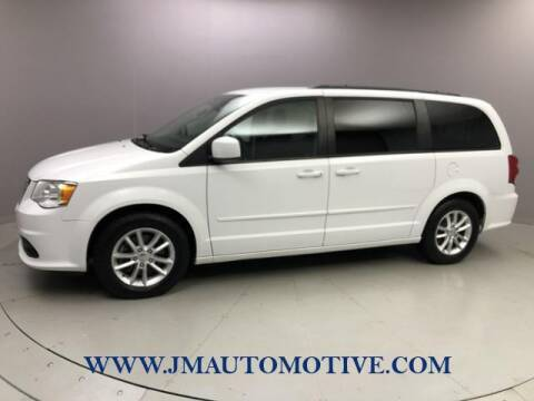 2016 Dodge Grand Caravan for sale at J & M Automotive in Naugatuck CT