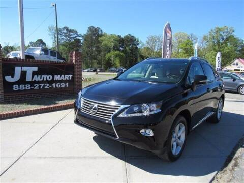 2015 Lexus RX 350 for sale at J T Auto Group in Sanford NC